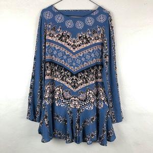 Free People Smooth Talker Tunic Mini Dress Sz S